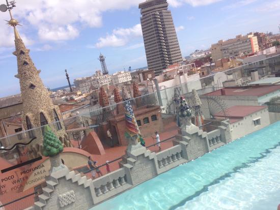En La Nueva Terraza Del Hotel Picture Of Hotel Gaudi