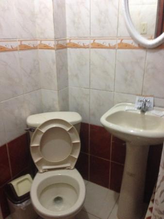Condor Palace Hostal: banheiro