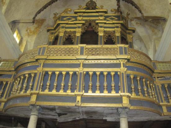 Bagnoli Irpino, Italy: organo