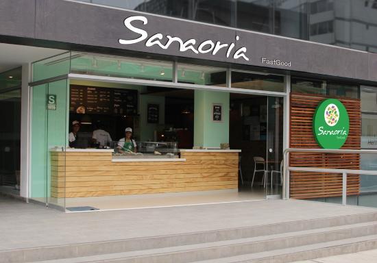 Sanaoria fastgood lima fotos n mero de tel fono y for Fachadas de restaurantes modernos