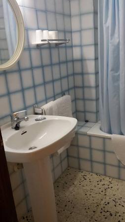 Hotel Raco d'en Pepe: baño