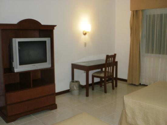 Hotel Costa Maya Inn: TV