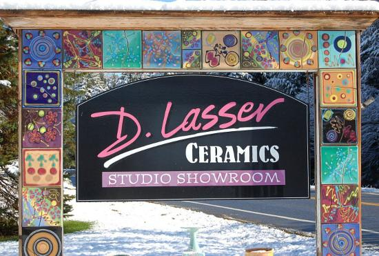 Londonderry, VT: D. Lasser Ceramics Showroom and Studio