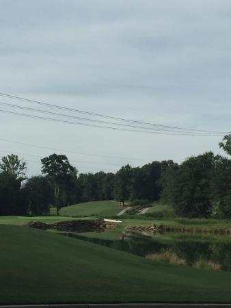 Hoschton, GA: Golf view beside Mulligans.