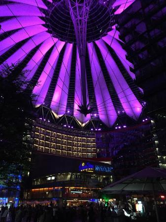 Sony Center Inside