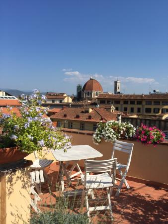 Annabella Hotel : This was a clean but small & older hotel on one floor of this building.  The rooftop terrace is