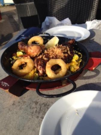 Cafe Restaurant Grand Tropez: Paella Mixta...