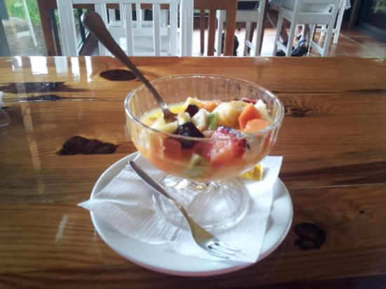 Playa Mont: Postre (frutas variadas)