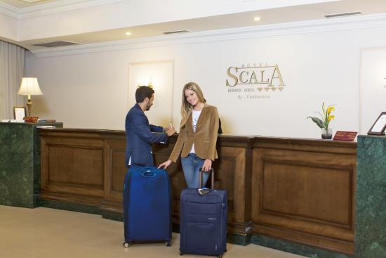 Scala Hotel: Recepción