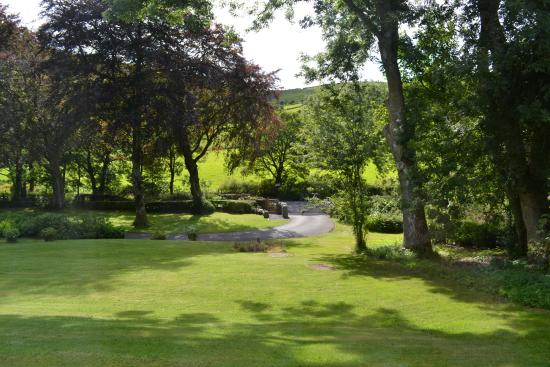 The Grange Country House Hotel: View from Lucys Apartment