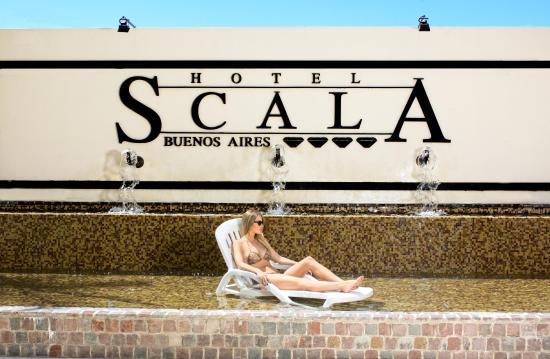 Scala Hotel: Patio de las Palmeras