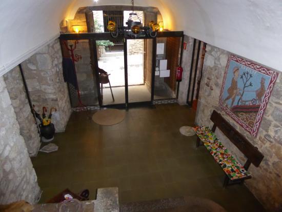 Bellmirall: Escaleras recepción