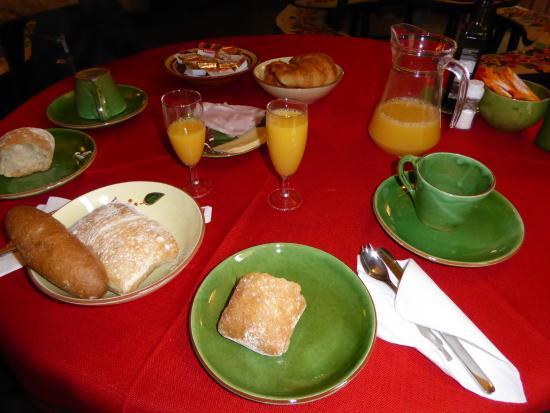 Bellmirall: Desayuno