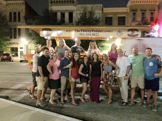 The Thirsty Pedaler: Thirsty Pedaler crew