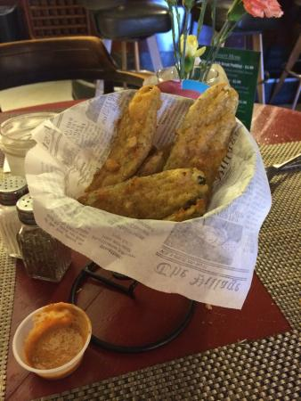 Scotia, Californie : Fried dill pickles
