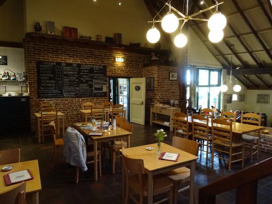 Hotel Staakenborgh: het restaurant in 'de Staakenborgh'