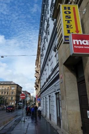 Sokolska Youth Hostel: Wejście do schroniska