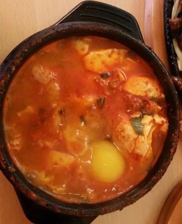 Sooki's Oriental Cuisine: Seafood Soft Tofu