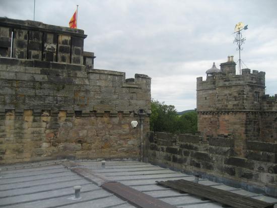 Chillingham Castle Roof