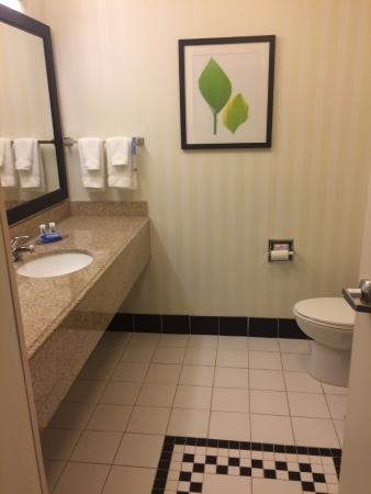 Fairfield Inn & Suites San Antonio Boerne: bathroom