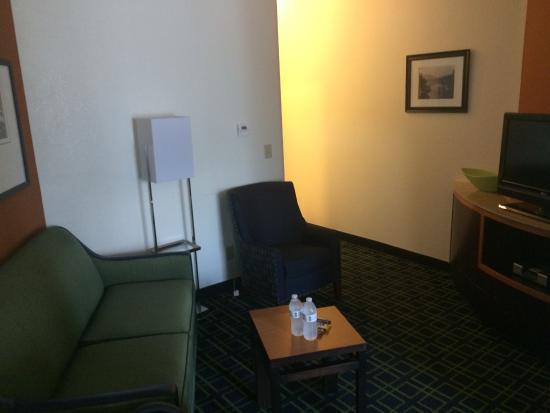 Fairfield Inn & Suites San Antonio Boerne: sitting area