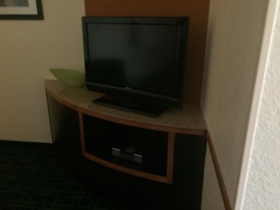 Fairfield Inn & Suites San Antonio Boerne: tv in sitting area