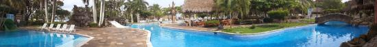 Puerto Barrios, Guatemala: The swimming pool