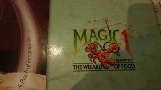 Magic 1 : The menu cover