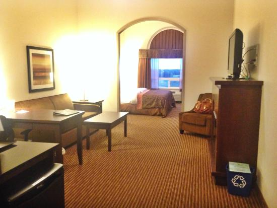 Canalta Hotel Humboldt : Huge rooms!