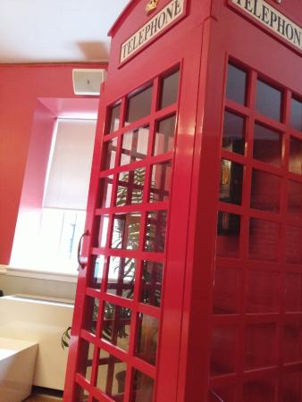 Hostelling International - New York: Decoração de Uma das Salas de Convivência