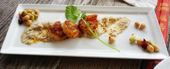 Mystic Fish Seafood Grill: Grilled Shrimp