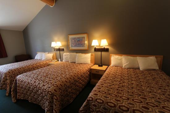 Moose Creek Lodge and Suites: Guest Room Three Beds