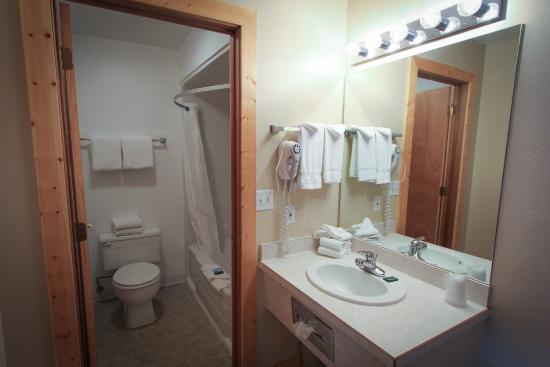 Moose Creek Lodge and Suites: Guest Bathroom