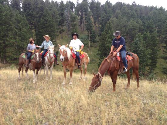 Mountain Sky Guest Ranch: horseback riding