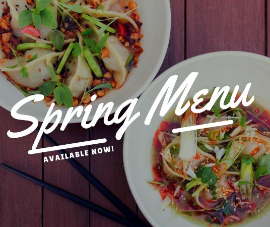 DUO Dining Room Bar Spring Menu Out