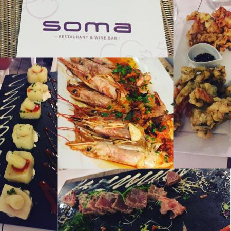 Soma Restaurant & wine bar : Amazing tapas
