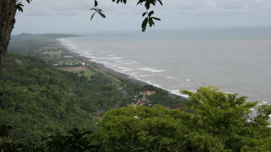 Chiclets Tree Canopy Tour: View of Playa Hermosa
