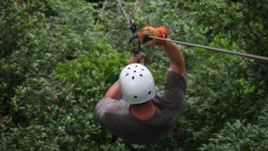 Chiclets Tree Canopy Tour: Safety Gear