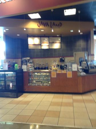 Java Land: Kiosk Inside Nebraska Furniture Mart