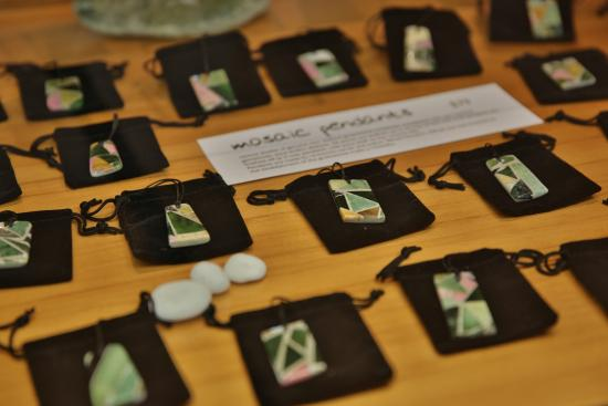 Wilderness Gallery : mosaic pounamu jade pendants
