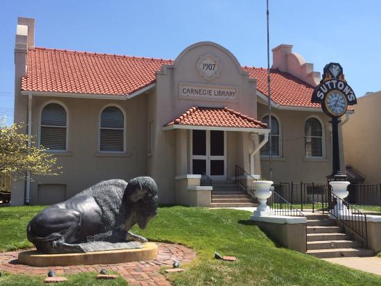 McCook, NE: Historic Carnegie Library which adjoins the Museum of the High Plains