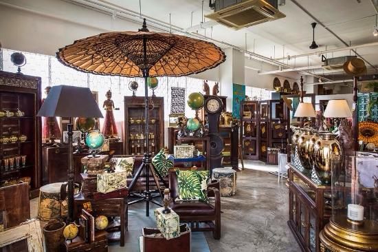What a shop Treasures antiques home decor furniture Its
