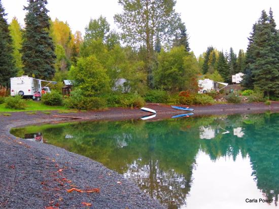 Kitimat-Stikine District, Canada: Beautiful lakeside camping