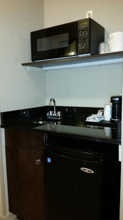 Holiday Inn Express Minneapolis-Minnetonka: Wet Bar in Suite Room