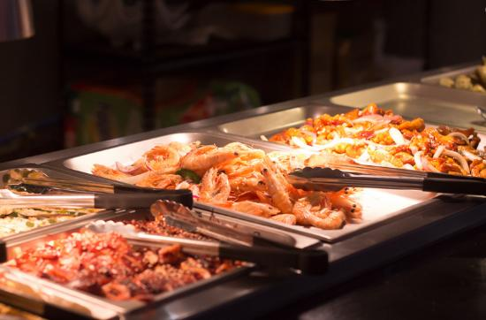 Asian foods on the buffet picture of yutaka grill for Asian cuisine tulsa ok
