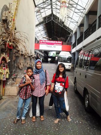 The Aroma's of Bali Hotel & Residence: Pintu Masuk