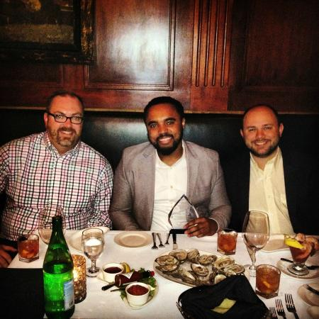 Celebration Dinner at Frankie Rowland's Steakhouse