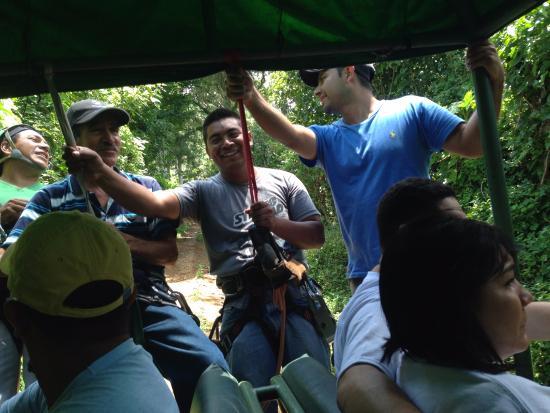 Apaneca Canopy Tour: Crew
