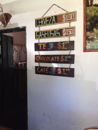 Apaneca Canopy Tour: Drink stand