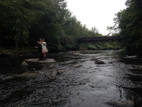 Gouldsboro, Pensilvania: Teaching moment